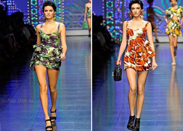 Короткие платья-сарафан Dolce & Gabbana