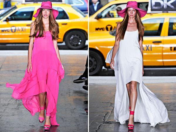 Летние платья от DKNY разной длины