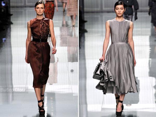 Коллекция сарафанов для офиса Christian Dior 2012