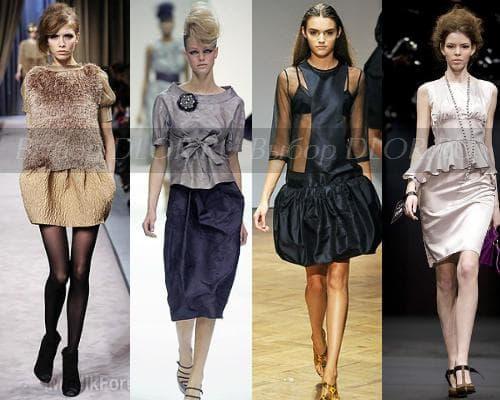 Фасоны платья-тюльпана