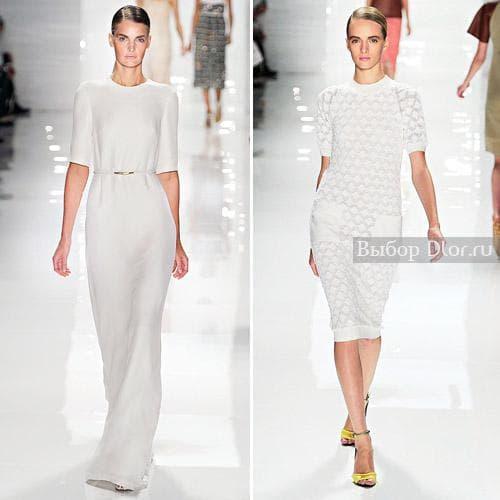 Білі літні сукні від Derek Lam