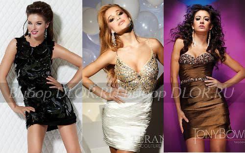 Фото платьев на Новый 2012 Год