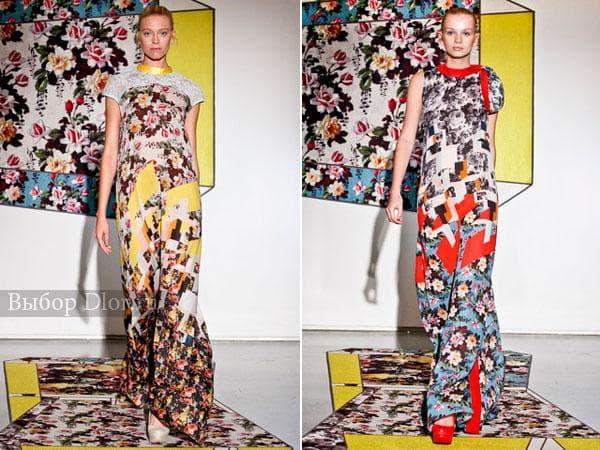 Цветочные длинные сарафаны и платья от Brood