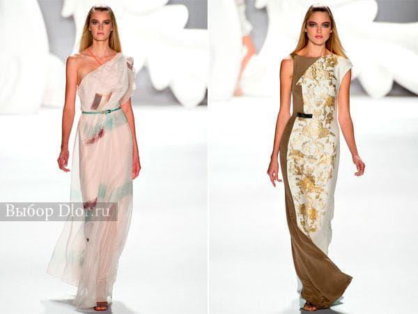 Шикарные летние платья в пол от Carolina Herrera