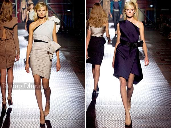 Брендовые платья длиной до колена