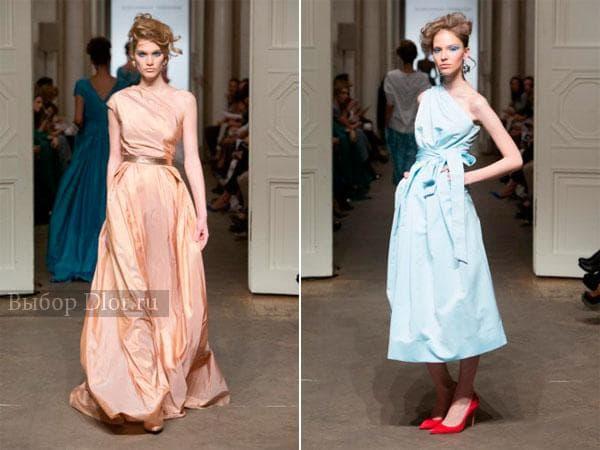 Весенняя коллекция платьев Александра Терехова 2013