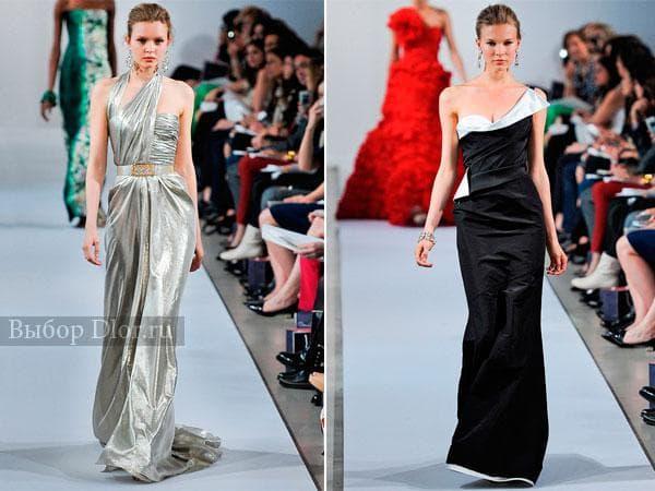 Вечерние платья от Oscar de la Renta