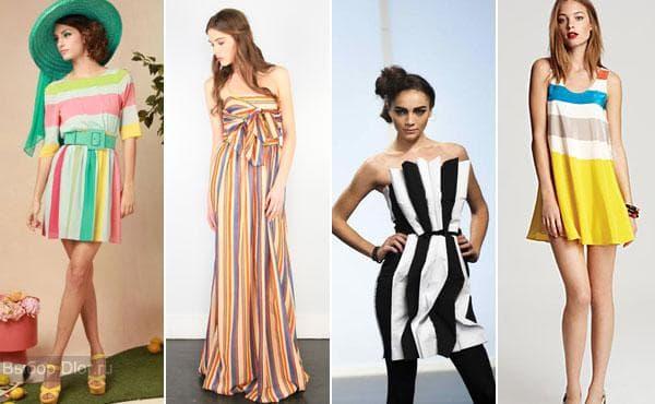 Летние платья с яркими принтами