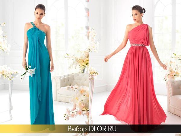 Модные выпускные платья 2014