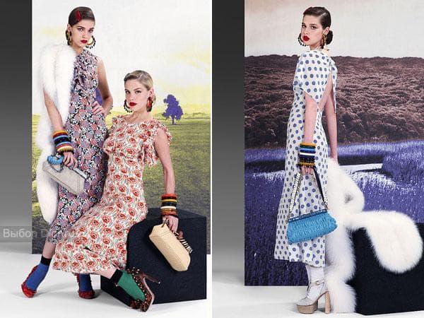 Стильные образы от Prada