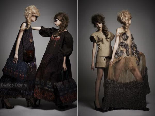 Платья от Алены Ахмадуллиной 2012