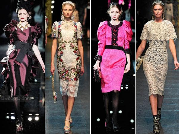 Ретро стиль от Dolce&Gabbana