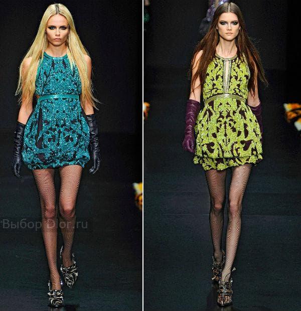 Короткие платья от Roberto Cavalli