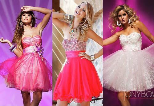 Розовые платья фото