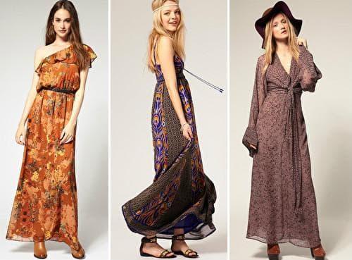 Шифоновые платья фото