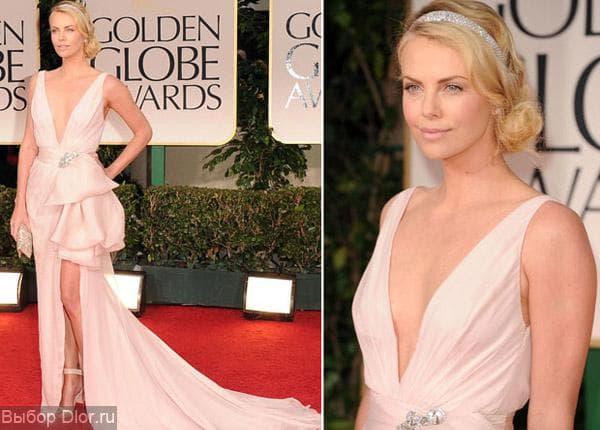 Платье Шарлиз Терон от Dior