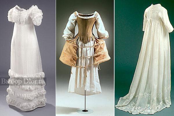 В такие платья одевались девушки много лет назад