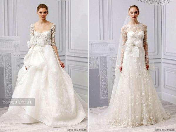 Оригинальные фасоны свадебных платьев
