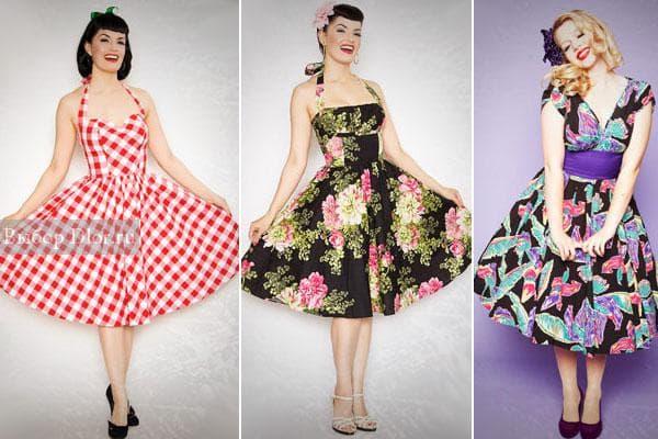 Модели в стиле 40-х
