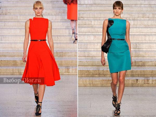 Стильные строгие платья