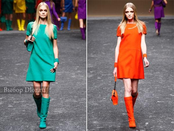 Яркие офисные платья от Blumarine