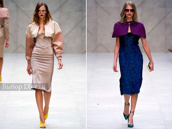 Коллекция платьев Burberry Prorsum 2013