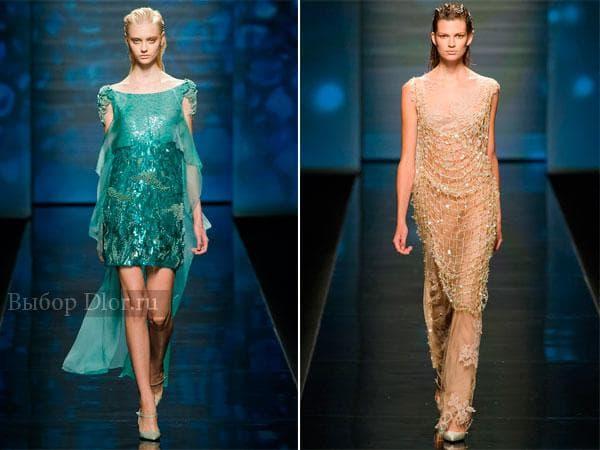 Модные вечерние наряды от Alberta Ferretti