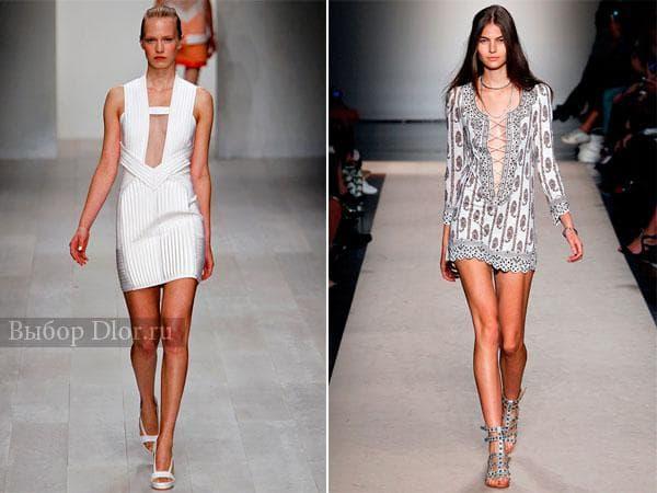 Короткие платья от David Koma и Isabel Marant