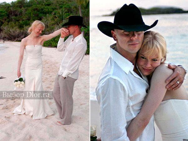 Свадебное платье Рене Зеллвегер от Carolina Herrera
