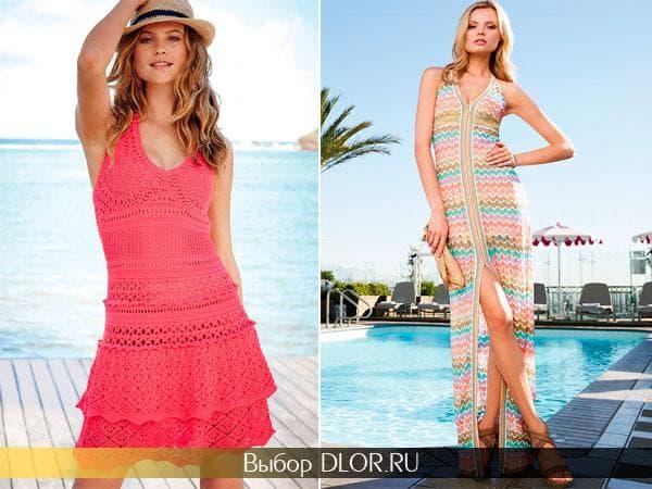 Фото пляжных платьев Victoria's Secret