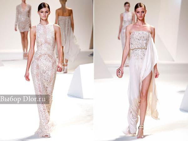 Романтические платья от Elie Saab