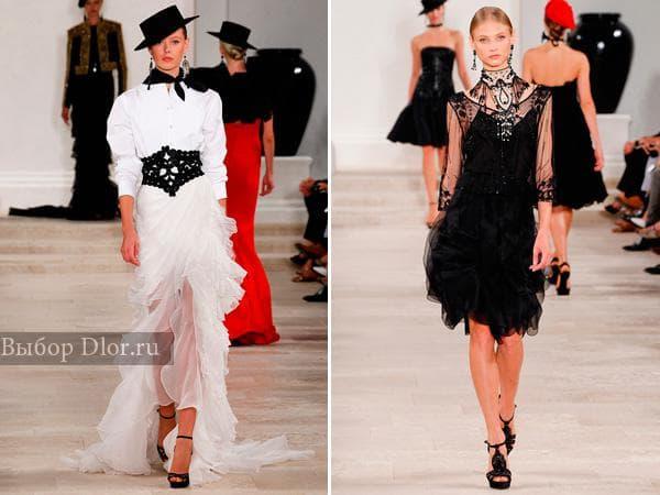 Оригинальные модели платьев от Ralph Lauren