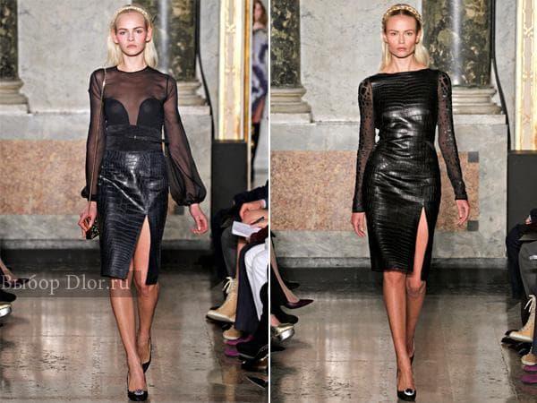 Элегантные платья из новой коллекции Emilio Pucci