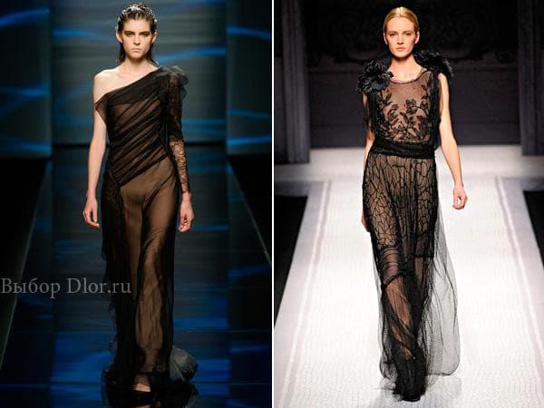 Длинные вечерние платья от Alberta Ferretti