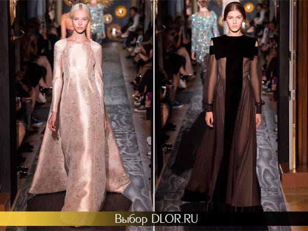 Шикарные вечерние платья от Valentino