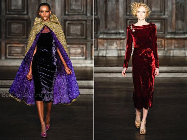 Вельветовые платья от L'Wren Scott