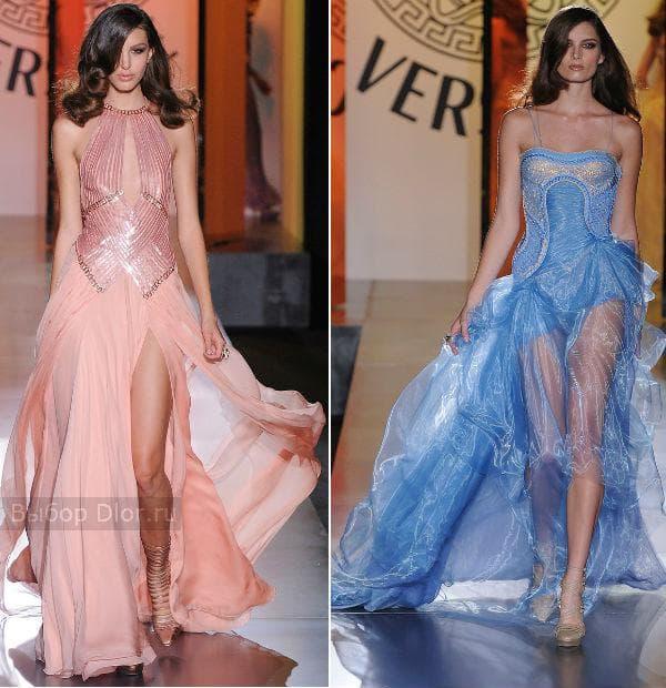Коллекция стильных длинных вечерних платьев