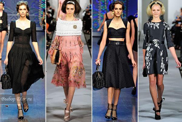 Dolce & Gabbana и Oscar de la Renta