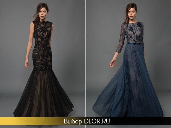 Модные гипюровые платья на выпускной 2014