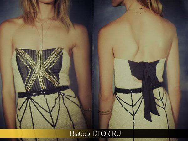 Выпускной платье для блондинки