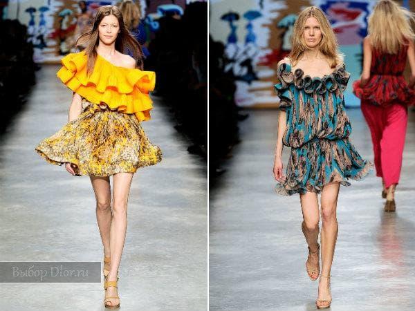 Короткие летние платья от Stella McCartney