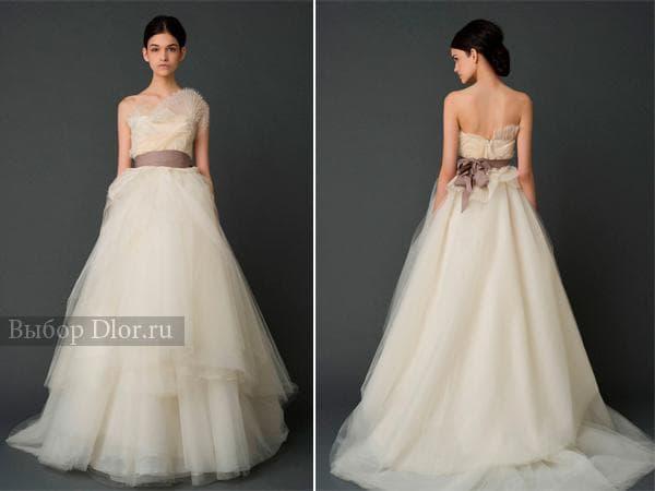 Фото свадебных платьев от Vera Wang
