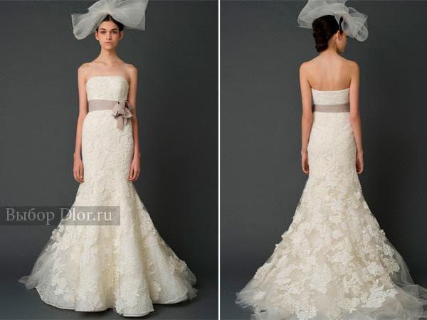 Платье-рыбка от Vera Wang