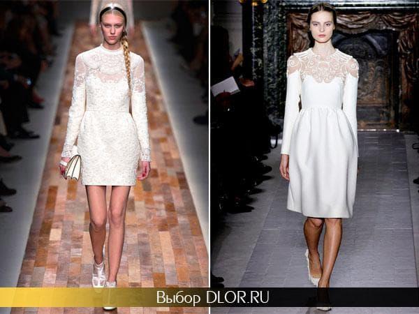 Ажурные платье от Валентино
