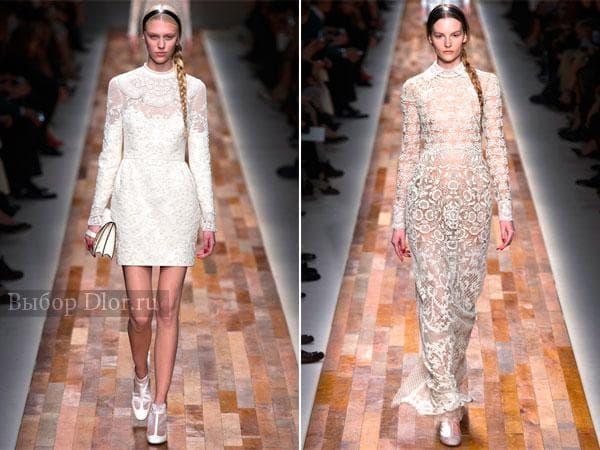 Шикарные платья от Valentino