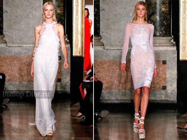 Шифоновые платья от Emilio Pucci