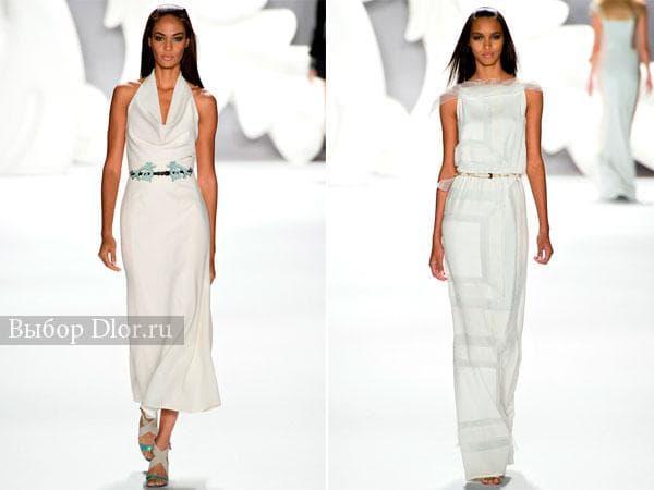 Белые наряды от Carolina Herrera