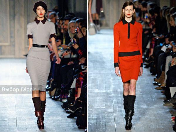 Victoria Beckham и оригинальные модели платьев 2012