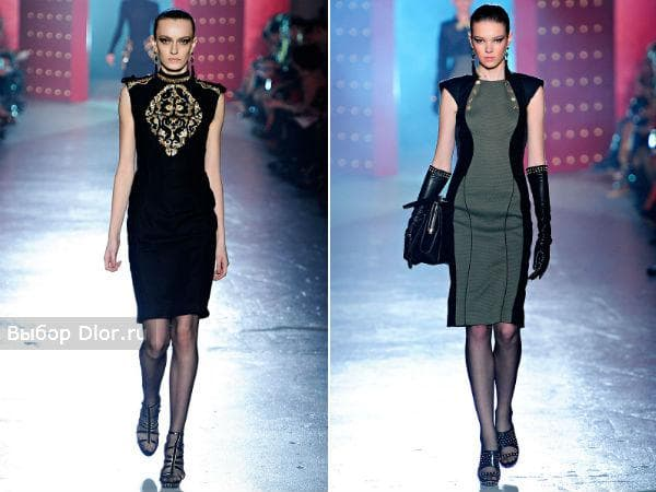 Шерстяное платье-футляр от Jason Wu