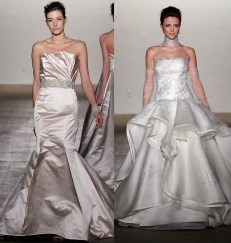 Фото зимних свадебных платьев